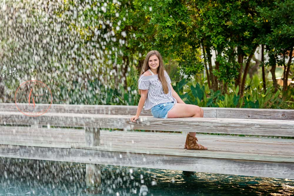 30A photographer Seaside senior portraits