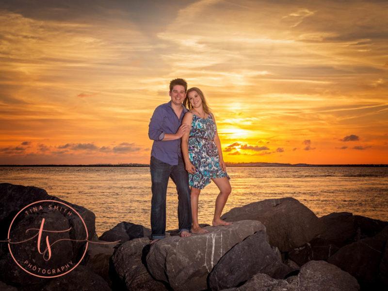destin fl family beach photo session at the jetties