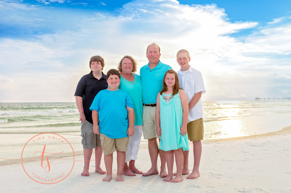 destin family beach photography