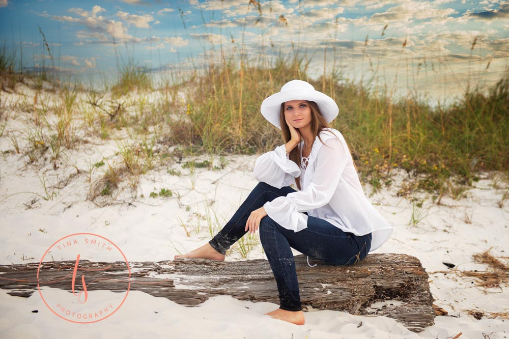 destin senior portraits