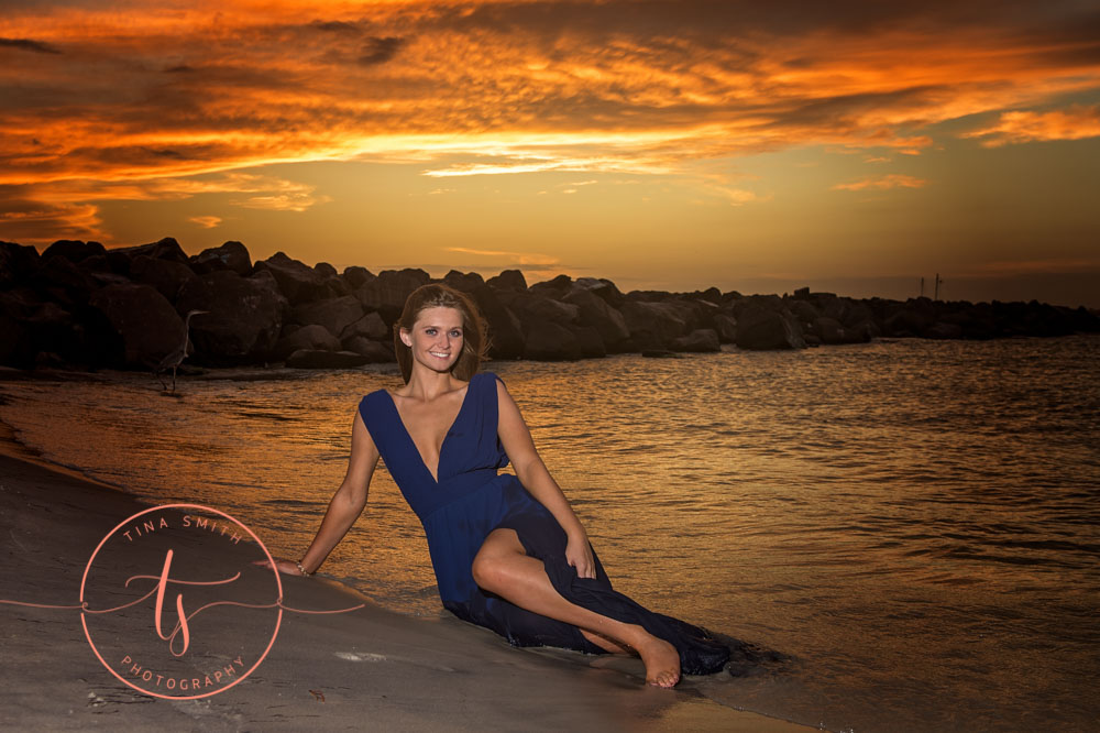 destin senior portrait photographer