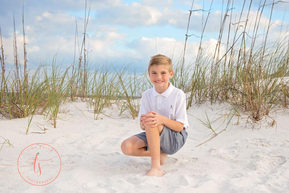 10 year beach portraits