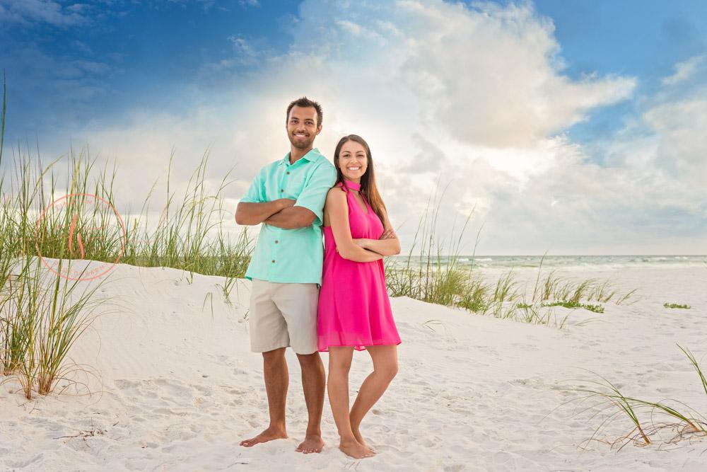 siblings destin family beach photographer