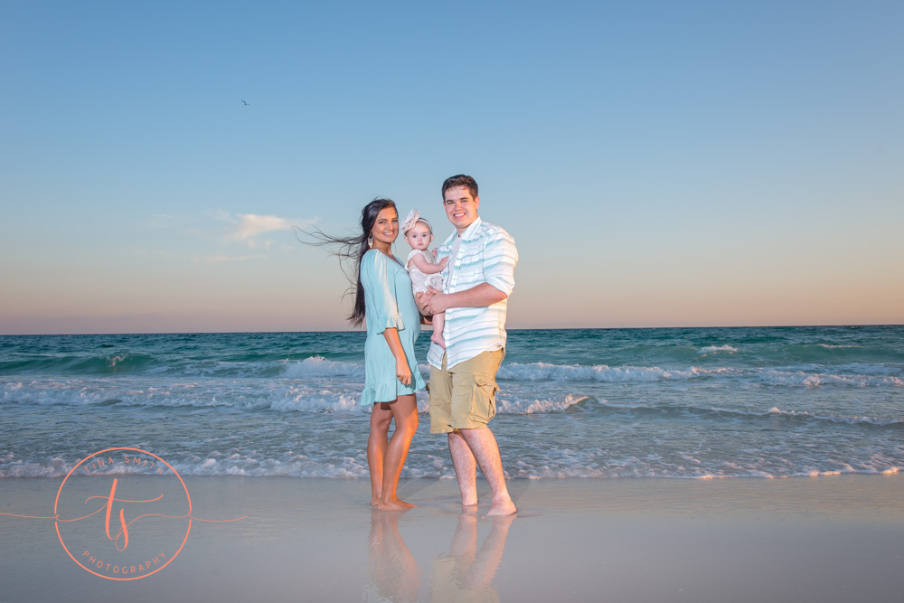 destin photographer family on beach