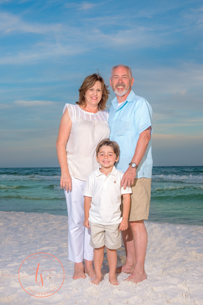 family beach photography miramar