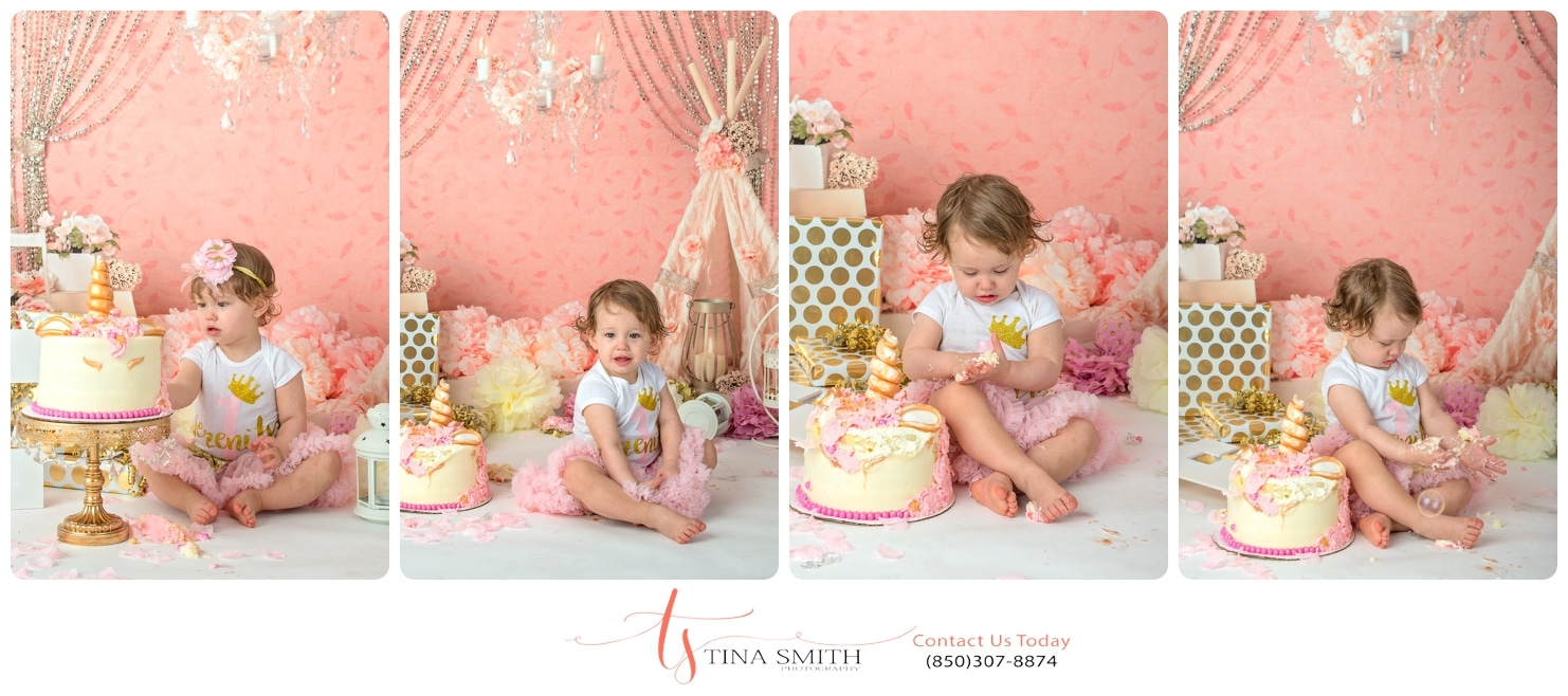 cake smash defuniak springs photographer