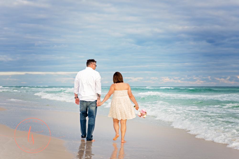 beach wedding photography destin