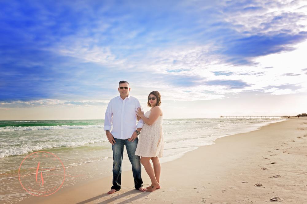 destin wedding photography beach