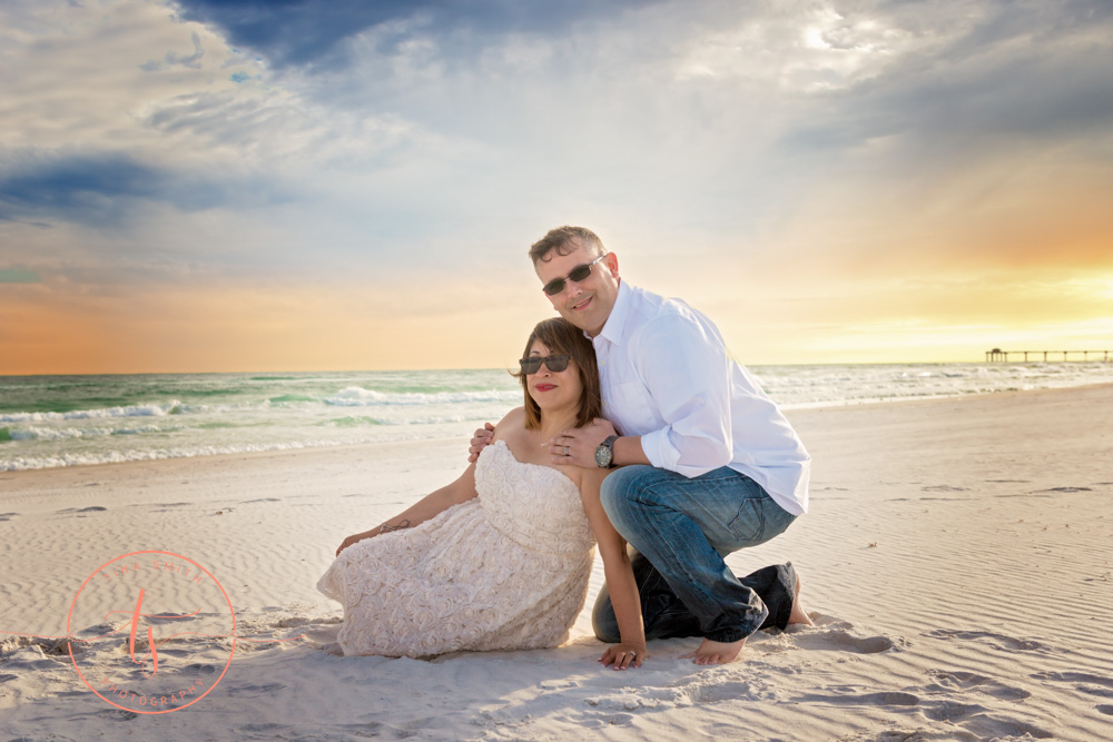 destin beach wedding photography