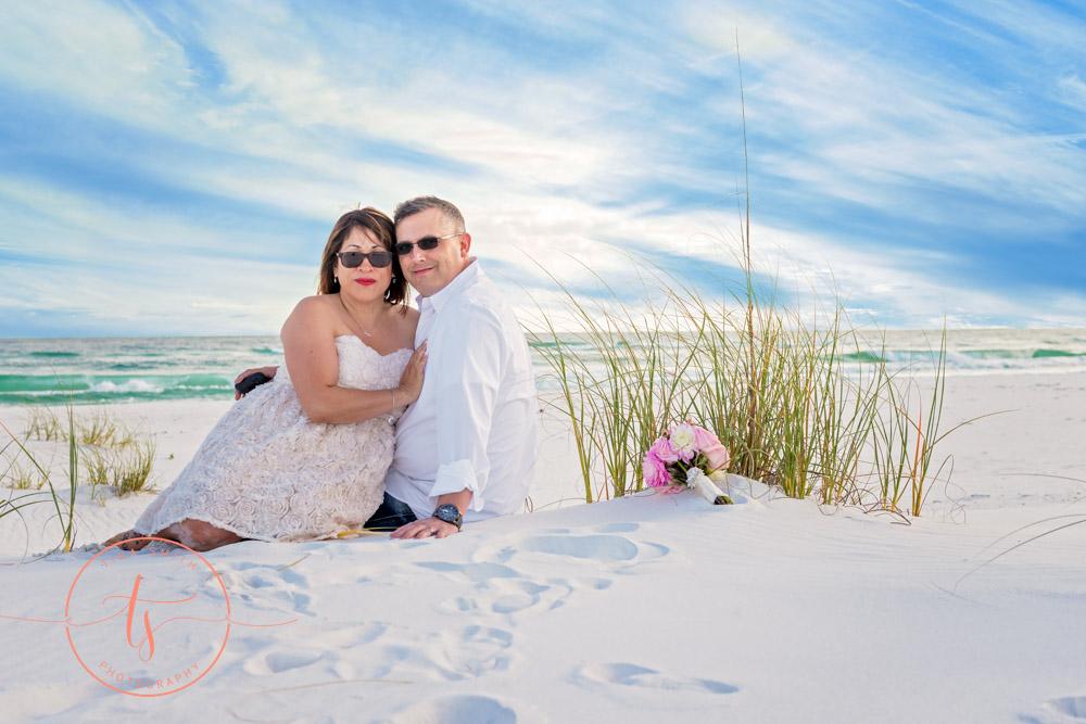 destin wedding photographer beach