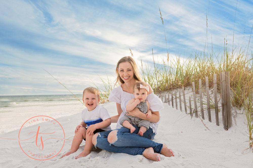 family beach photography destin