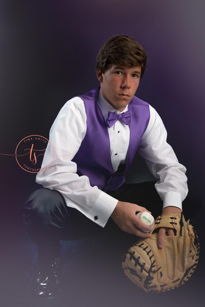 destin photographer sports baseball senior portraits