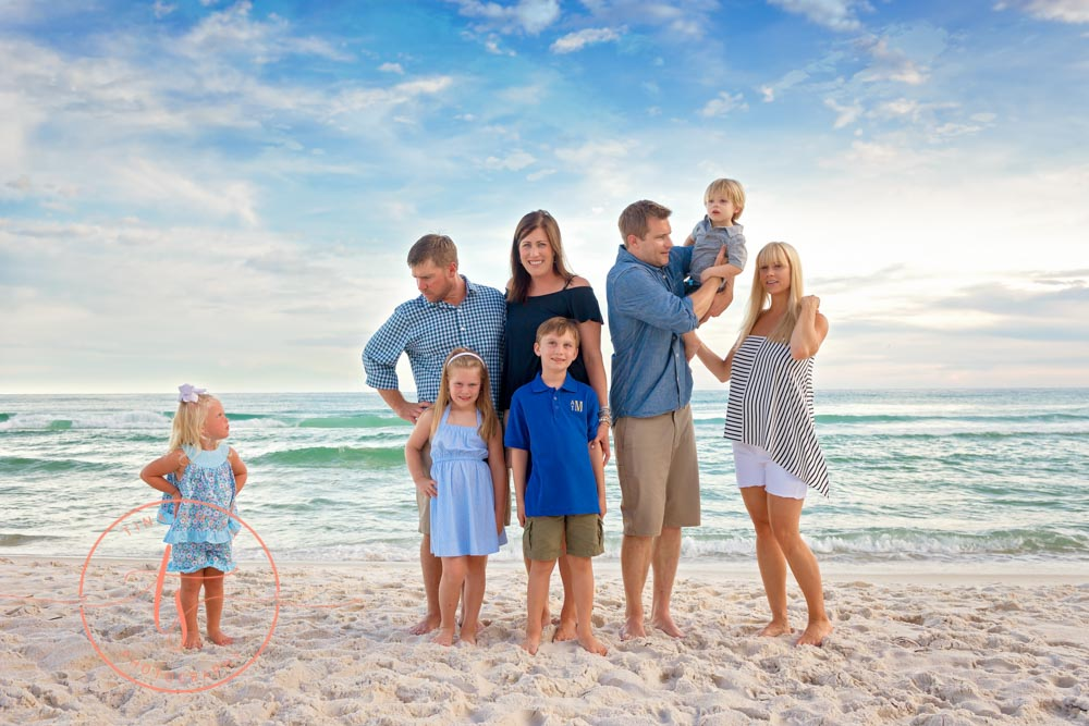 destin family photography outtakes