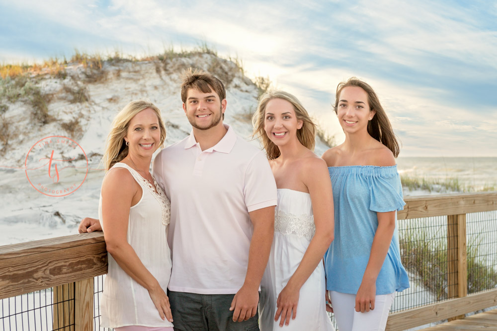 watersound photographer family beach photography sunrise